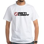 Anti Cindy Sheehan White T-Shirt