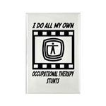 Occupational Therapy Stunts Rectangle Magnet (100