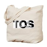 Tromso Airport Code Norway TOS Tote Bag