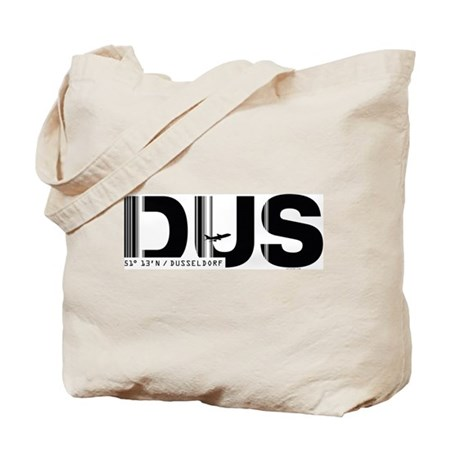 Dusseldorf Airport Code Germany DUS Tote Bag