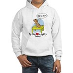 Refusing Down Agility Hooded Sweatshirt