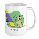 See-Saw Agility Dog Large Mug