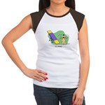 See-Saw Agility Dog Women's Cap Sleeve T-Shirt