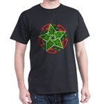 Celtic Christmas Star Dark T-Shirt
