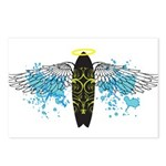 """Surf Angel: Tribe"" Postcards (Package of 8)"