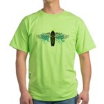 """Surf Angel: Tribe"" Green T-Shirt"