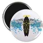 """Surf Angel: Tribe"" 2.25"" Magnet (100 pack)"