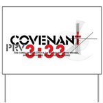 """Covenant: Curse of the Lord"" Yard Sign"