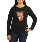 """Sonrise"" Women's Long Sleeve Dark T-Shirt"