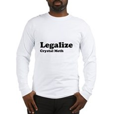 I Love Crystal Meth Long Sleeve T-Shirt