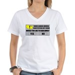 Error Loading America (RKBA) Women's V-Neck T-Shir