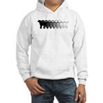 Gradient Labradors Hooded Sweatshirt