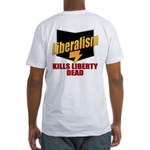 Conservative Anti Liberal Fitted T-Shirt