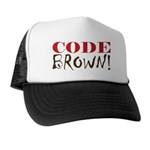 Code Brown! Trucker Hat