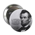 """President Abraham Lincoln 2.25"""" Button (10 pack)"""