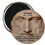 Greek Philosophers: Aristotle Magnet