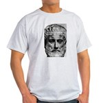 Greek Philosophy: Aristotle Ash Grey T-Shirt