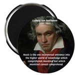 """Classical Music: Beethoven 2.25"""" Magnet (10 pack)"""