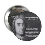 "Irish Idealist: George Berkeley 2.25"" Button (100"