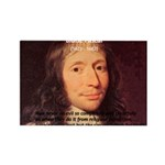 Mathematician: Blaise Pascal Rectangle Magnet (10