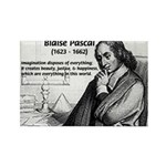 Mathematics: Blaise Pascal Rectangle Magnet (100 p