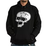 Screaming Skull Hoodie (dark)