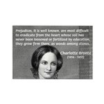 Novelist Charlotte Bronte Rectangle Magnet (10 pac