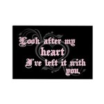 Edward Heart Twilight Rectangle Magnet