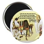 Eastern Thought: Confucius Magnet
