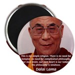 "His Holiness the Dalai Lama 2.25"" Magnet (100 pack"
