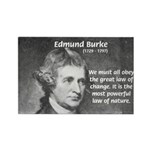 Edmund Burke Rectangle Magnet (10 pack)