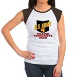 U.S. Army Killing Terrorists Women's Cap Sleeve T-