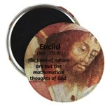 "Euclid: Math and Philosophy 2.25"" Magnet (100 pack"