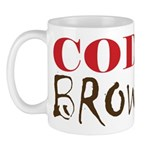 """Code Brown!"" On Front of Mug"