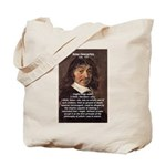 Philosopher Rene Descartes Tote Bag
