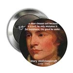 "Feminist Mary Wollstonecraft 2.25"" Button (10 pack"