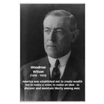Woodrow Wilson Large Poster