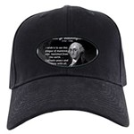 President George Washington Black Cap