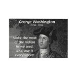 George Washington Rectangle Magnet (100 pack)