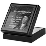 George Washington Keepsake Box