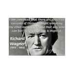 Musician Richard Wagner Rectangle Magnet (100 pack