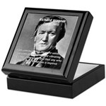 Musician Richard Wagner Keepsake Box