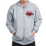 books about teenage Vampires Zip Hoodie