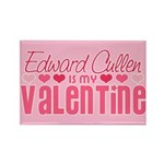 Edward Twilight Valentine Rectangle Magnet (100 pa