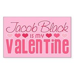 Jacob Twilight Valentine Rectangle Sticker 10 pk)