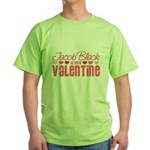 Jacob Twilight Valentine Green T-Shirt