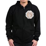 Market Sister of the Bride Zip Hoodie (dark)