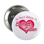 Emmett Cullen Heart 2.25&quot; Button