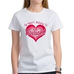 Heart Belongs Twilight Women's T-Shirt