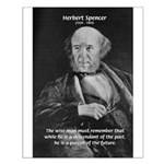 Herbert Spencer Small Poster